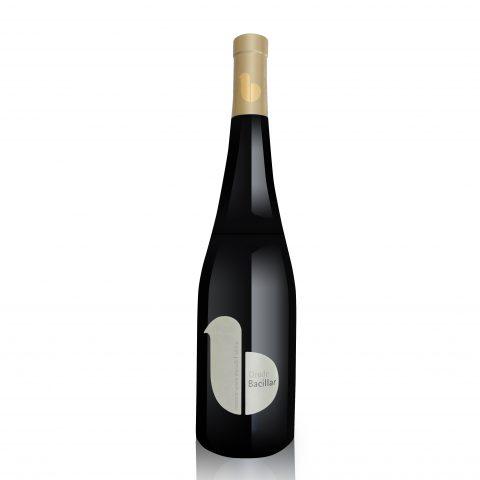 Etiqueta vino Oro de Bacillar