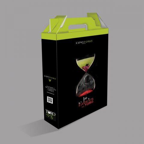"""Caja """"Las Edades del Vino"""" de Covitoro"""