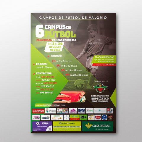 Cartel Campus Zamora Promesas C.F. 2019
