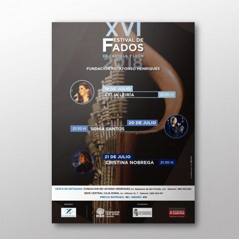 Cartel para Festival de Fados