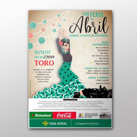 Cartel para la Feria de Abril de Toro